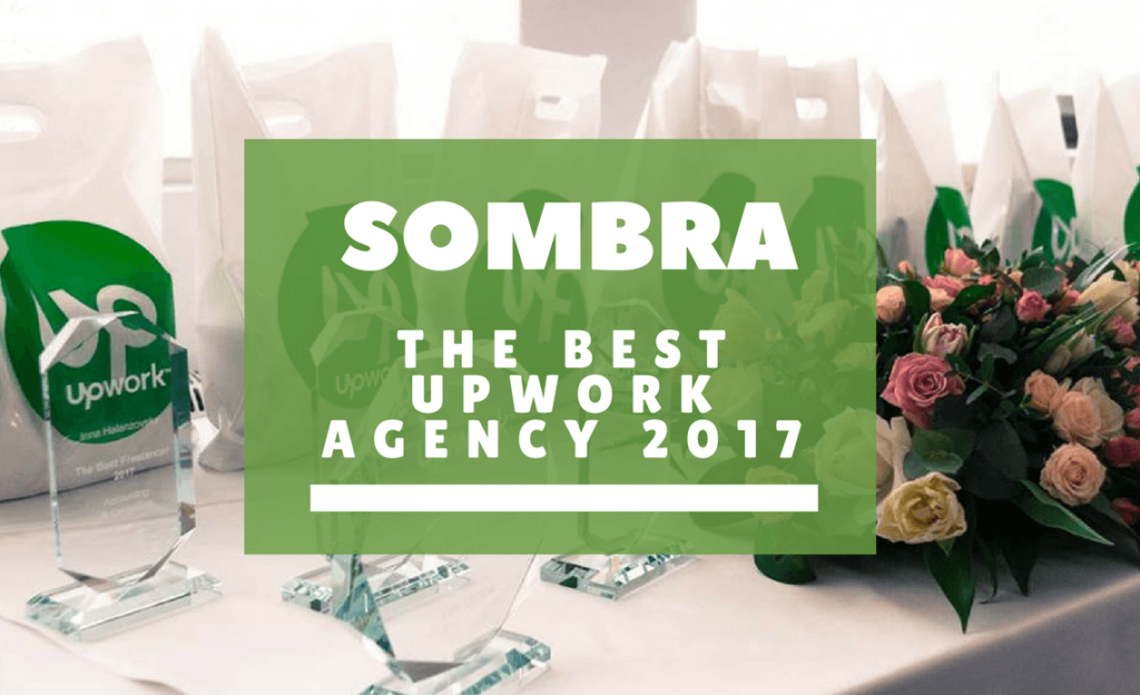Sombra Inc – best Lviv IT Agency 2017 on the Upwork